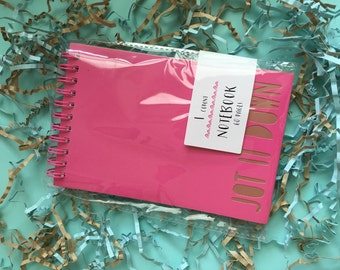 Pink note pad!