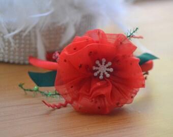 Christmas Tulle Headband