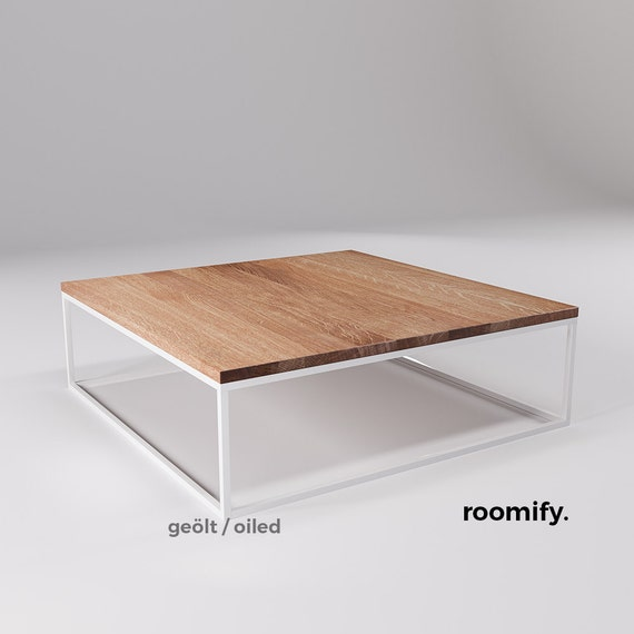 Industrial Coffee Table White: Roomify Coffee Table DOMI White Loft Design Industrial