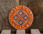 Ceramic wall pendant Makosh