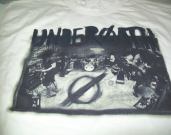 Underoath White T-Shirt Size Large