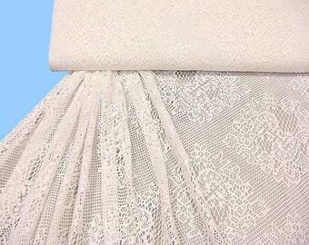 Coarse knit - lace wool-white (504081)