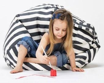 Bean bag, pouf with handle for children and teenager indoor / outdoor Pallas 3 Scandinavian design