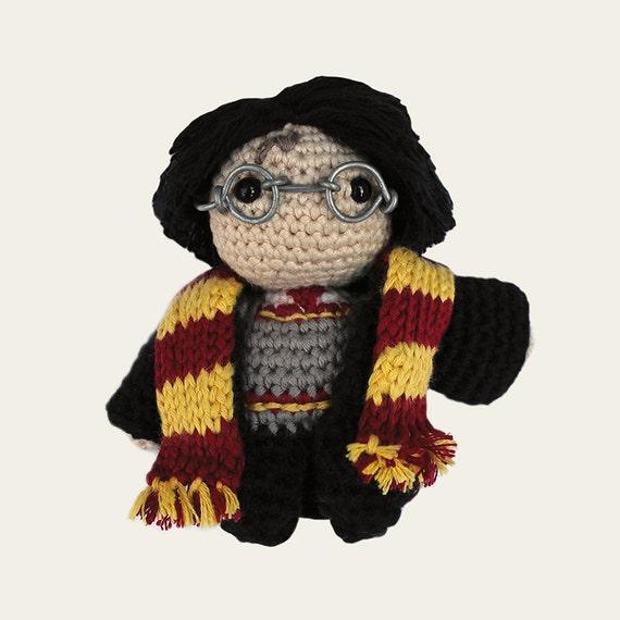 Harry Potter. Amigurumi Pattern PDF, DIY, Crafts, Crochet Pattern, Fantasy Novels, Wizard, Magic, Doll, Geek, Gift, Film, Instant download
