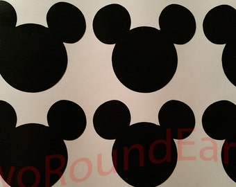 2-inch Mickey Head Stickers