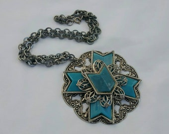 Faux Turquoise Pendant