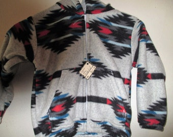 Size 6 Gray Thunderbird Fleece Jacket