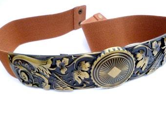 Adjustable Steampunk Belt_STB001402812_Steampunk Accessories_ Elastic Belts_Gift Ideas