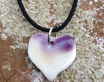 Wampum Heart Necklace Gift For Her