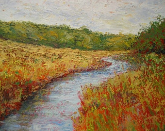 Impressionist Oil Painting by Michael Pintar. 12x16""