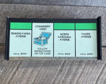 Vintage Monopoly Game Board Box - Pennsylvania