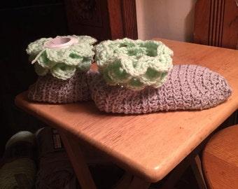 Crocodile slippers