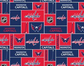 Washington Capitals Custom Made 8 pc (or made bumperless or in pink) nursery baby crib bedding set mw NHL Washington Capitals fabric NEW