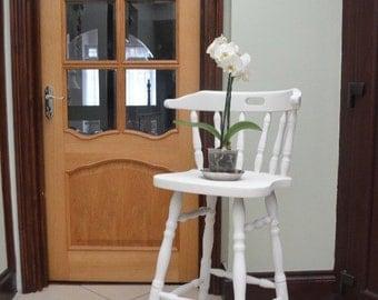 Vintage Minimalist Upcycled Chair