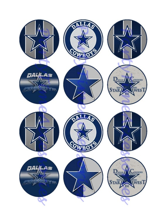 It is a photo of Rare Dallas Cowboys Printables