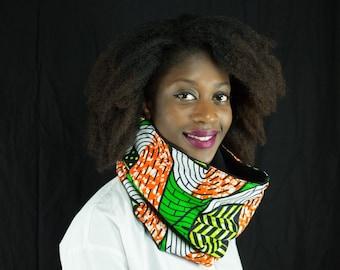 snood wax, tubular scarf