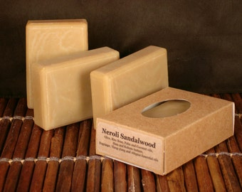 Neroli and Sandalwood Handcrafted Soap