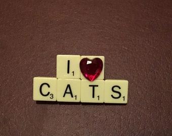 I Heart Cats Pin