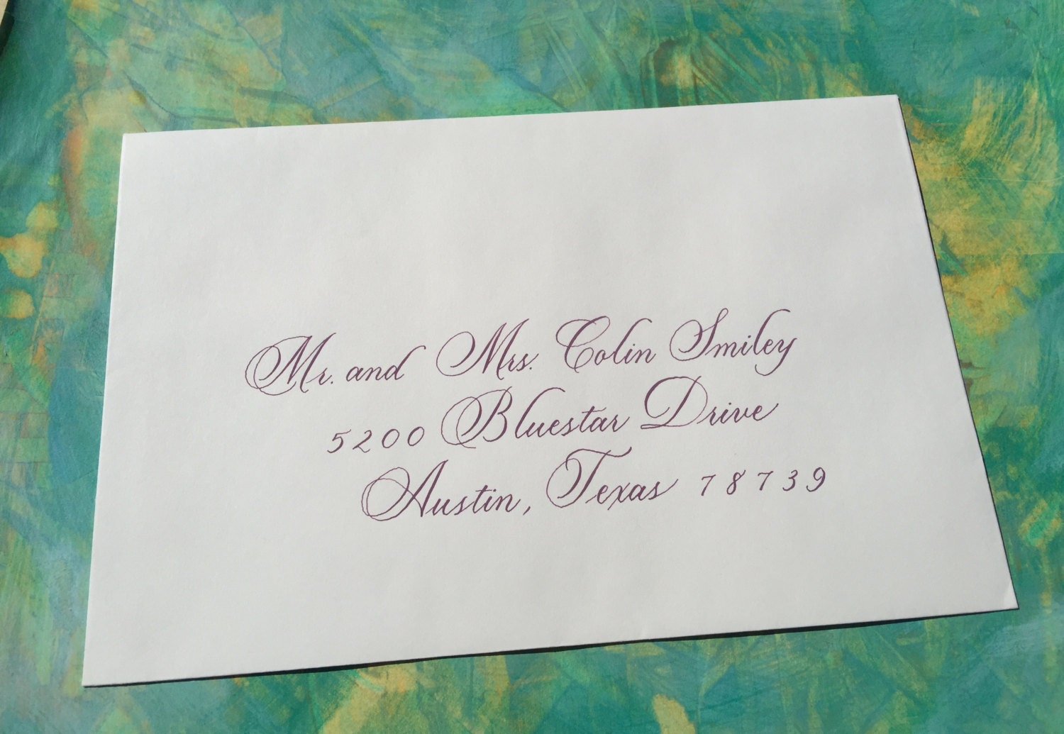 hand lettered envelopes wedding envelope lettered with copperplate calligraphy 13874 | il fullxfull.931842951 mnau