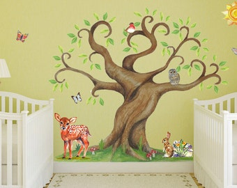 Magical Tree Giant Sticker