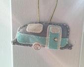 Handmade Airstream Trailer Ornament