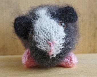 Hand Knitted Guinea Pig - Baby Humbug