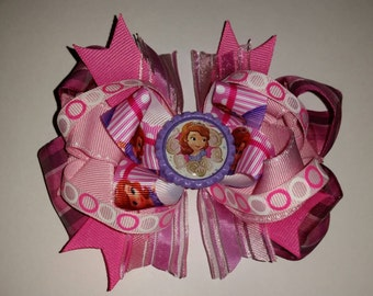 Sofia the First Pretty in Pink Bow