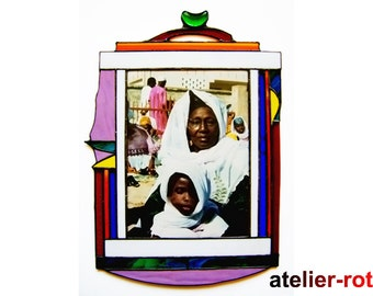 Africa Tiffany photo frame picture frame framing