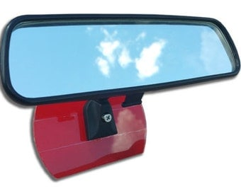 Never Fall Rearview Mirror Attachment