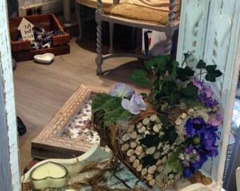 Handmade wooden Mirror - Indoor- Outdoor