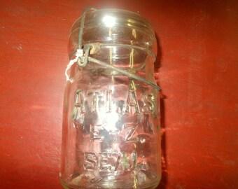 Atlas e-z seal canning jar