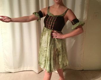 peasant ballet costume