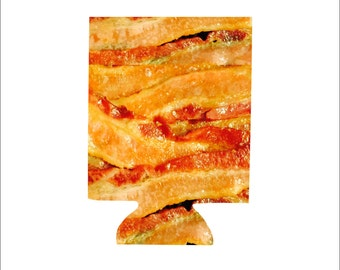 Bacon Can Huggers, Set of 2, Gifts for Him, Personalized Can Huggers