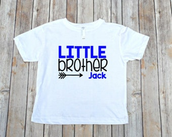Little Brother Shirt, Lil Bro Shirt, Pregnancy Announcement, Big Brother, Sibling Shirts