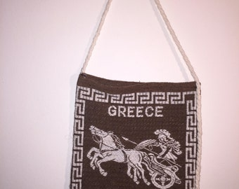 Greece Tapestry bag  from Corfu 70s