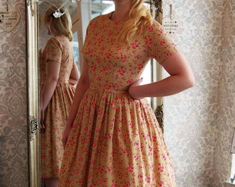 Mary Jane 1940s-50s Tea Bridesmaid dress