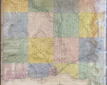 1894 Map of Yankton County South Dakota