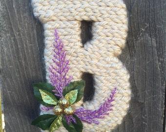 Yarn Letter B