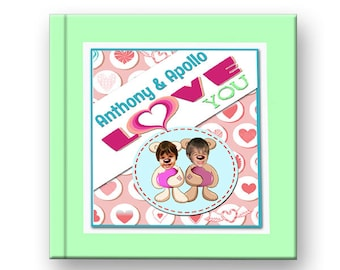I Love You, Gift Book, a special personalized gift for loved ones, Personalized Gift Book, perfect for Mother's Day