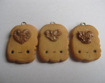 Peanut Toast Charm
