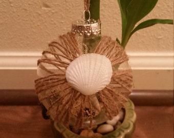 Beachy Christmas Ornament