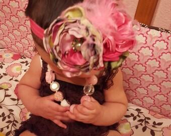 chic baby headband