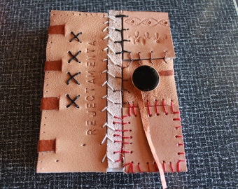 Leather blank book: Rejectamenta