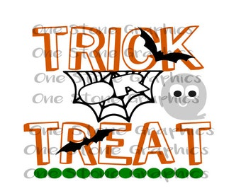 Trick or treat svg,DXF, trick or treat svg,Trick or treat,Halloween svg,Ghost svg,ghost,trick,treat,halloween,Halloween bag svg,halloween