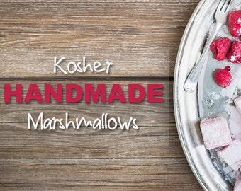 Handmade Kosher Marshmallows (Vegan Friendly) Multiple Flavors