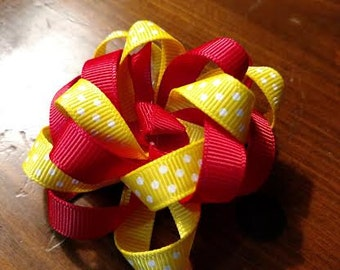 Red and Yellow bow