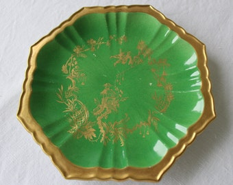 Octagonal plate Mottahedeh, manufactured in Italy