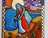 Prophet Miriam, Dancing Monk