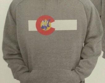 Colorado Columbine Flag Hoodie