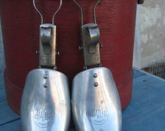 Lafayette Paris Vintage Shoe Tree/Paris mark Shoe Tree/ French Vintage Shoe shaper/Art Deco Shoe Shaper